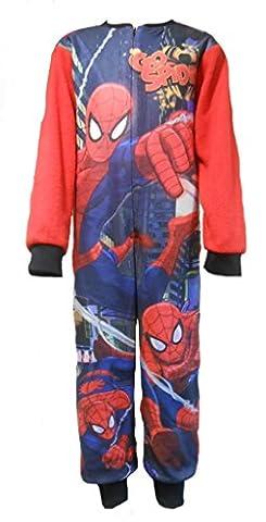 Spiderman garçons All in Onesie Dors 5-6 ans