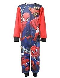 Superman Boys All in Strampler Sleepsuit Schlafanzug