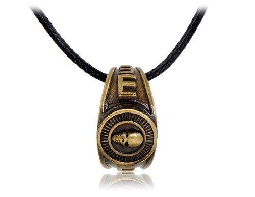Death Note Bronze Ghost-Ring Halskette Pendiente (Death Note-ring)