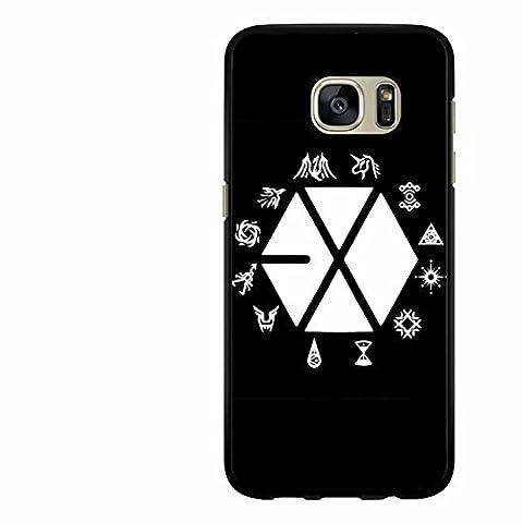 Exo Kpop Logo Cas Coque Samsung Galaxy S7 Edge L3S7NF