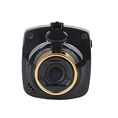 ZhongSheng-De objetivo único Full HD 1080P LCD de grado pantalla de alta resolución ultra gran angular de lente de la cámara del coche(C24)