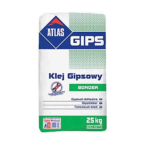 Ansetzgips Kleber für Gipskartonplatten ATLAS GIPS BONDER 25Kg