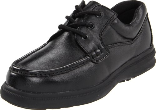 Hush Puppies Mens Gus Oxford Black Leather