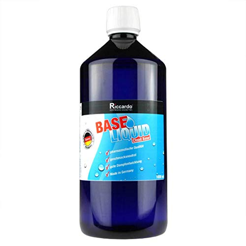 Riccardo Basisliquid Cloud Base, 70% VG/30% PG, 99.5% Ph. Eur, 1000 ml