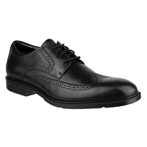 Rockport  City Smart Wing Tip, Derby homme Noir - Noir