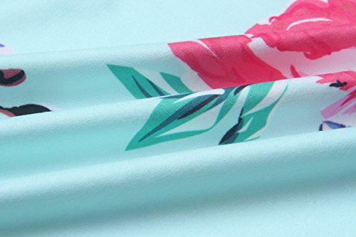 Herbst Neue Blumenmuster Strickjacken Damen Langarm Cardigan Jersey Mantel Im langen Abschnitt Jacke Kimono Outwear Pullover Grün