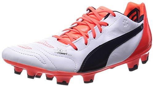 puma-evopower-12-l-fg-calcio-scarpe-da-allenamento-uomo-bianco-weiss-white-total-eclipse-lava-blast-