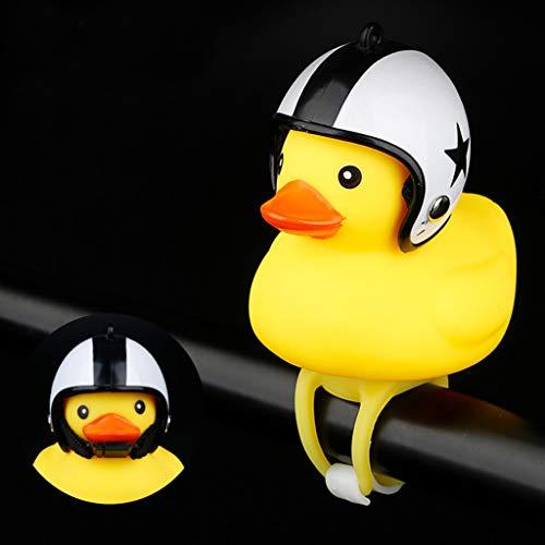 Super süße!!!Cartoon Shining Duck Head Light Fahrradbeleuchtung,Bloodfin Wiederaufladbare Fahrradleuchte Fahrradbeleuchtung, Fahrradlampe Fahrradlicht Frontlicht Rücklicht Fahrradlichter Lenker (J) -