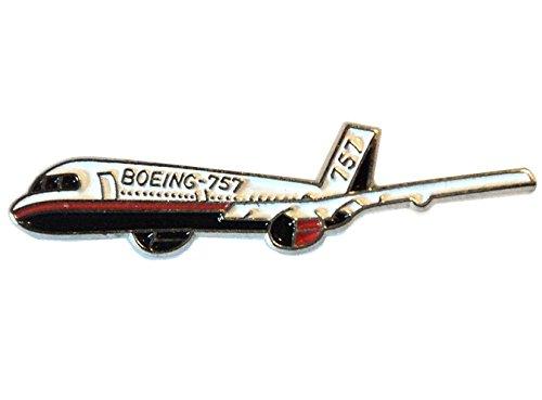boeing-757-pasajero-jet-avion-avion-metal-esmalte-insignia-broche