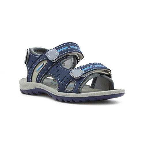 Walkright Boys Navy Easy Fasten Sandal - Size 13 Child UK - Blue