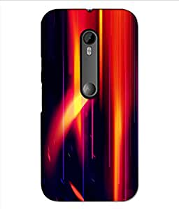 MOTO G3 Printed Cover By instyler