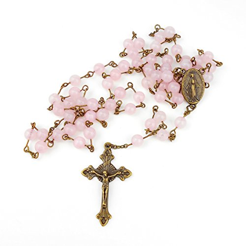 rose-quartz-rosary-with-miraculous-medal-in-antique-bronze-colour