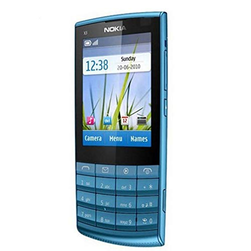 Erduo 2.4' Screen Touch Unlocked WiFi Keyboard Mobile Phone for Nokia X3-02 - Blue