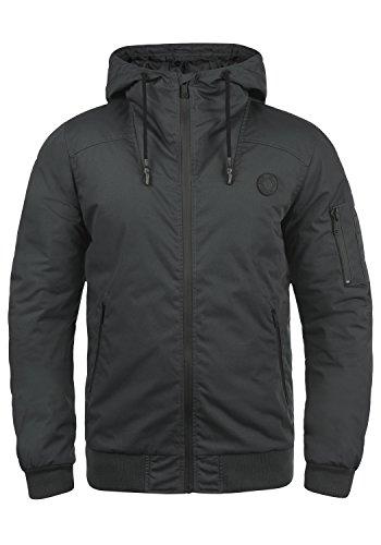 !Solid Tilly Sporty Herren Übergangsjacke Herrenjacke Jacke Mit Kapuze, Größe:L, Farbe:Dark Grey (2890)