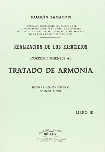 Realización de los ejercicios correspondientes al Tratado de Armonía, libro VIII