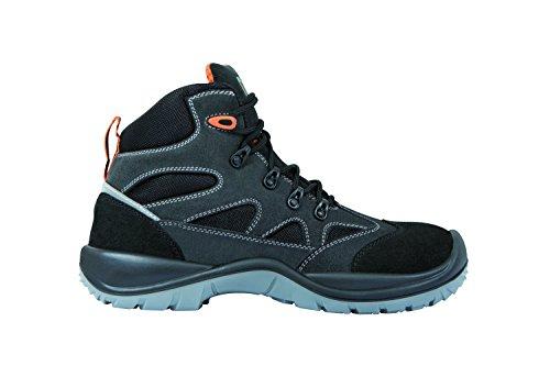 Exena Giava-calzature di protezione del lavoro, Giava Nero