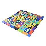 WLD Tappetino per bambini 'S Foam Piastrelle per pavimenti per bambini' S Soft Tappetino Interlock - Tappetino reversibile per palestra, area giochi per bambini, Sport, Yoga, Pilates Matz Set Schiuma