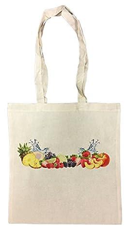 Fruits Sac à Provisions Plage Coton Réutilisable Shopping Bag Beach Reusable