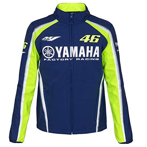Valentino Rossi VR46 Moto GP M1 Yamaha Racing Soft Shell Giacca Ufficiale 2018
