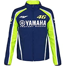 0fee99e6523 VALENTINO ROSSI VR46 Moto GP M1 Yamaha Racing Soft Shell Veste Officiel  Nouveau