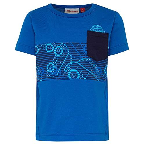 Lego Wear Baby-Jungen Duplo Boy Terrence 322-T-SHIRT T-Shirt, Blau (Blue 563), Herstellergröße: 80 -