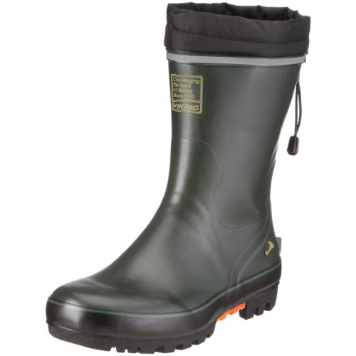 Viking TERRAIN GUMMISTIEFEL 1-40310-4, Bottines mixte adulte Vert (Vert-V.4)