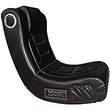 Techmobility - Gamechair - Gaming chair avec Enceinte 2.1 USB Noir