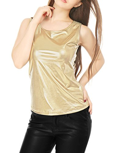 allegra-k-lady-sleeveless-u-neck-fashion-metallic-tank-top-gold-l
