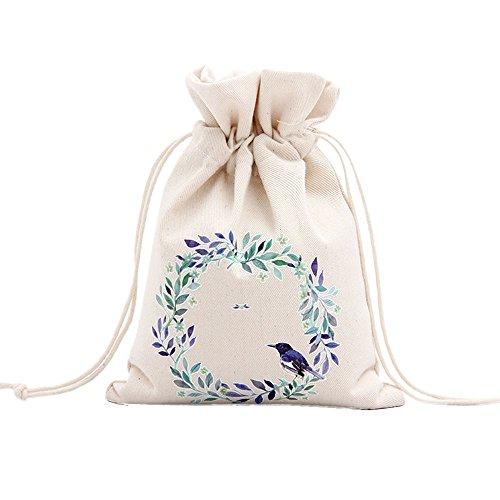 (attachmenttou Süßigkeiten Box Weihnachtsbaum Geschenktüten Für Apple Speicher Segeltuch Verzierung-Dekoration Weihnachts)