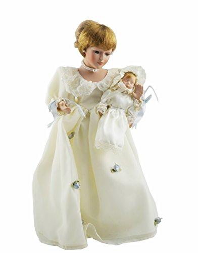 Cosette New sammeln Frauen Baby Kleid Beige Realistische Zöpfe Prinzessin Engel Porzellan Puppe Porzellan Puppe Baby