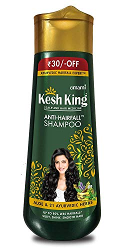 Kesh King Herbal Shampoo & Conditioner 100% Ayurvedic Patented Medicine Shampoo 120ml