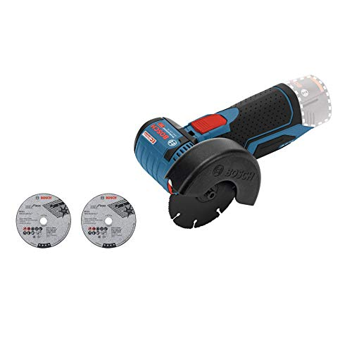 Bosch Professional GWS 12 V-76 Cordless Angle Grinder (Without Battery and Charger) - Carton