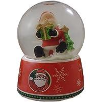SnowGlobe 6 cm con scena di Natale - SANTA DESIGN (PM194)