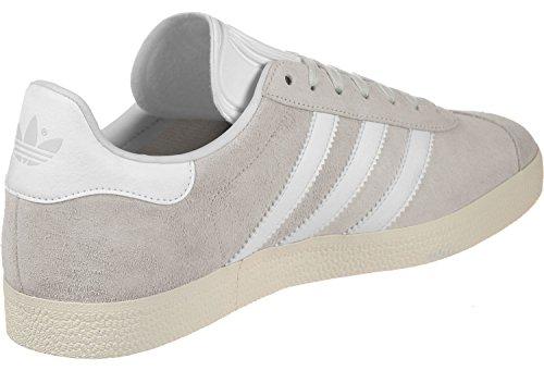 adidas Herren Gazelle Gymnastikschuhe Elfenbein (Crystal White S16/ftwr White/cream White)