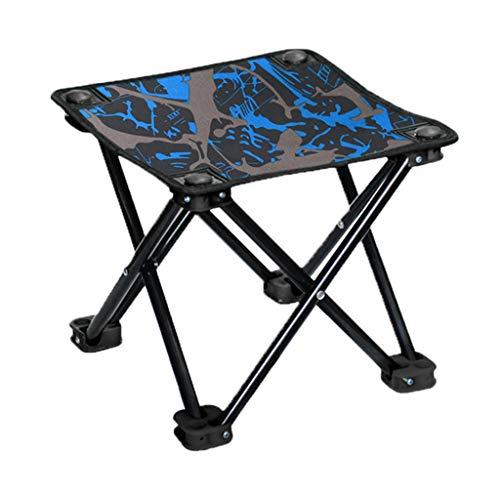 Folding chair Tabouret - Tabouret Pliant, Tabouret de pêche portatif, Mazar Multifonctionnel/Chaise de Croquis/Tabouret de Camping (Couleur : A, Taille : 26 * 26 * 24cm)