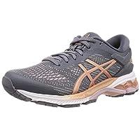 Asics GEL-KAYANO 26 Road Running Shoes for Womens, Grey, 39 EU
