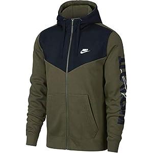 Nike Herren Full-Zip Hbr+ Kapuzenjacke,