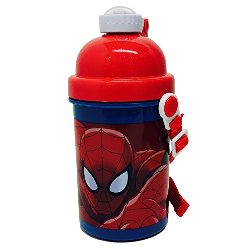 marvel-ultimate-spiderman-pop-up-botella-400-ml-multicolor