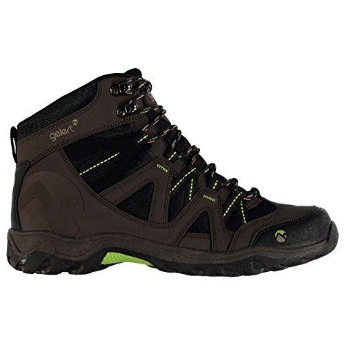 Gelert Herren Ottawa Mid Wanderstiefel Wanderschuhe Trekking Stiefel Outdoor Boots Braun