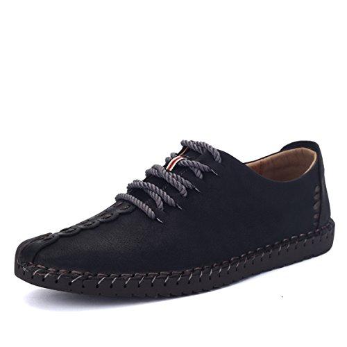 Zapatos de hombre de cuero, Gracosy Vestir Oxfords