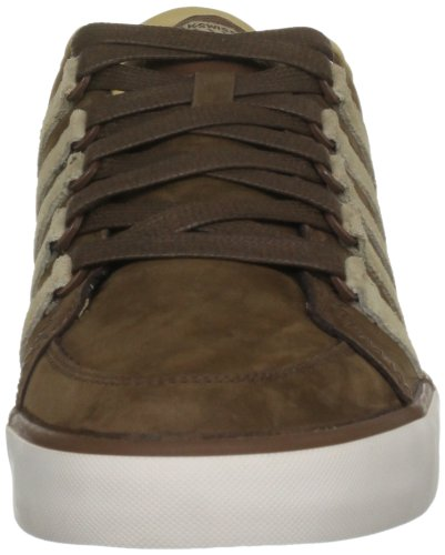 K-Swiss Gowmet II Vnz, Baskets mode homme Marron (Bison/Desert/Straw)