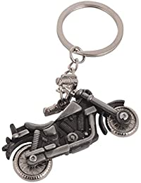 SLN Harley Davidson Bullet Metal Keychain For Bikes Bags Gift Collectible