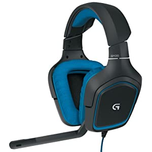 Logitech G430 7.1 DTS Headphone: X and Dolby Surround Sound Gaming Headset for PC, Playstation 4 –