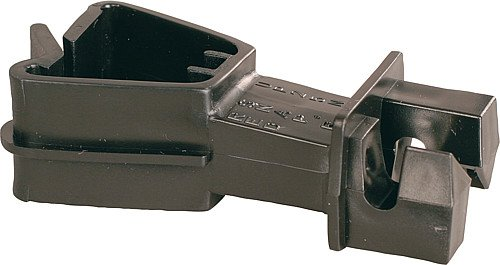 Patura Standard-Isolator f. T-Pfosten-Rückseite schwarz (25 Stück / Pack)
