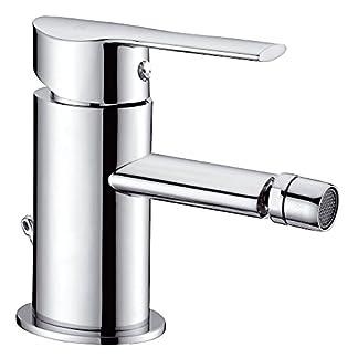 Clever Mikura – Grifo bidé monomando de repisa, sistema de ahorro de agua EcoNature