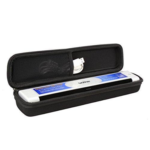 Aproca Hart Schutz Hülle Reise Tragen Etui Tasche für Brother DS-620 Mobiler Scanner