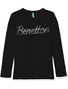 United Colors of Benetton T-Shirt Long Sleeve, Camiseta para Niñas