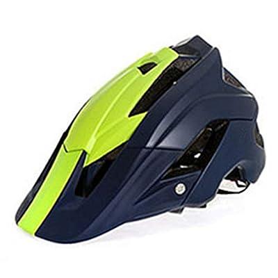 OLEEKA Cycle Helmet, MTB Road Cycling Helmet Ultralight Bike Men Women Teenager Youth Helmet, Black Blue Green Helmet by OLEEKA