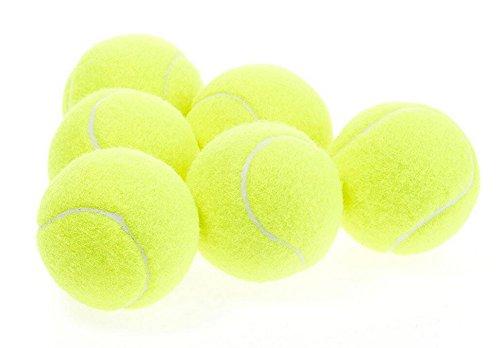 5x Demarkt Tennisbälle –Tennis Balls Tennis Practice Ball – Ideal for Tennis Playing and Teaching, Practice Training Pets Gelb