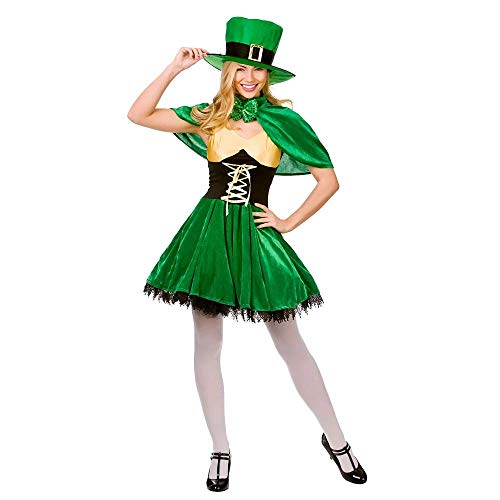 Dress Lady Fancy Kostüm - Lucky Leprechaun Adults Fancy Dress Ladies Outfit Costume